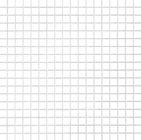 faience: White tile  Stock Photo