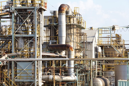 petrochemical industrial plant  photo