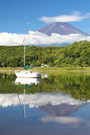 Mt Fuji in summer season photo