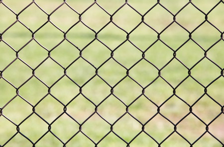 detain: Wire fence Stock Photo