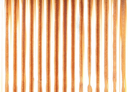 corrugated iron: Rusty metal texture