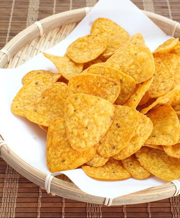 corn chip: Tortilla chips tacos