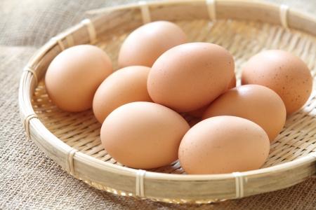 fresh brown eggs  Stock Photo - 23719660