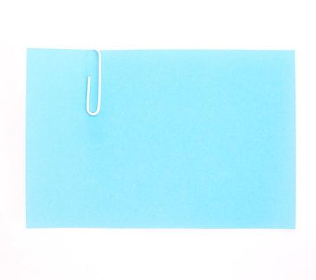 grapa: Papeles coloreados con grapas