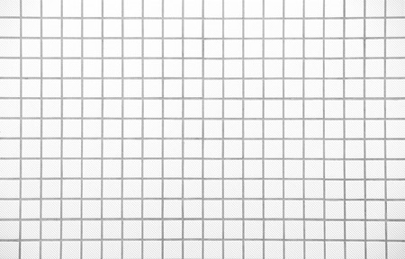 White tiles texture, seamless  photo