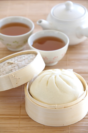 steamed bun  photo