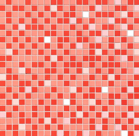 mosaic tile wall background  photo