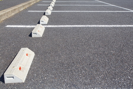 vacant lot: Empty Space in a Parking Lot