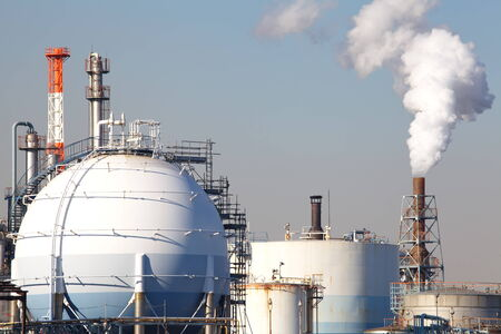 Oil and gas industry - refinery photo