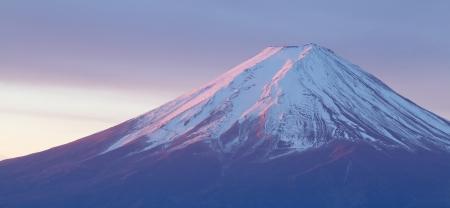 fuji san: Mountain Fuji in winter