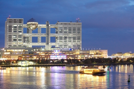 Tokyo Odaiba ,popular shopping sightseeing destination for tourists