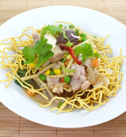 deep-fried noodles  Stock Photo - 24917560