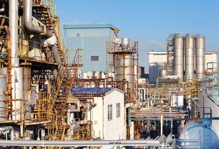 petrolium: petrochemical industrial plant