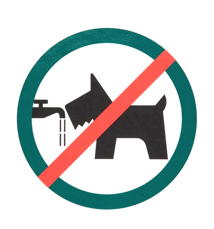 Photo of Signboard  no dogs