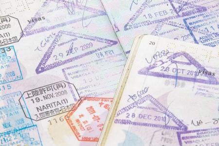 passport stamp photo
