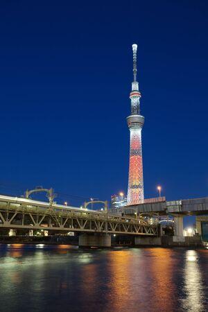 View of Tokyo Sky Tree photo