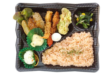 Contempor�neo bento box lonchera confeccionada japon�s photo