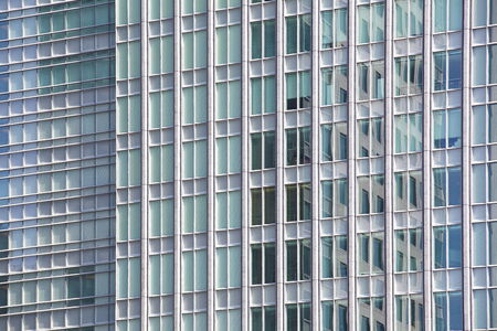 perfect blue glass high - rise corporate building Stock Photo - 26467797