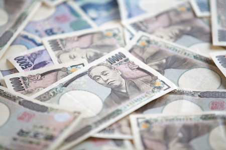 japanese currency: Japanese currency notes