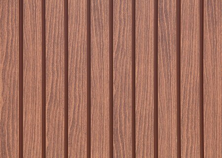 palisade: brown wood fence as background or texture  Stock Photo