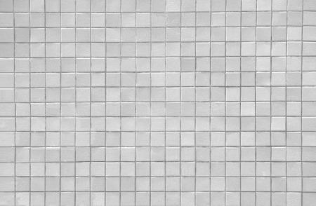 새로운 흰색 타일 무늬 벽 배경과 텍스처