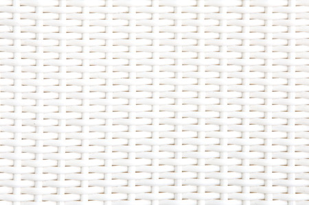 latticework: Close up white bamboo mat as striped background texture pattern  Oriental