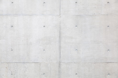 Grungy and smooth bare concrete wall background Stock Photo