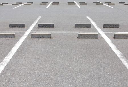 car Parking lane outdoor in public park  photo