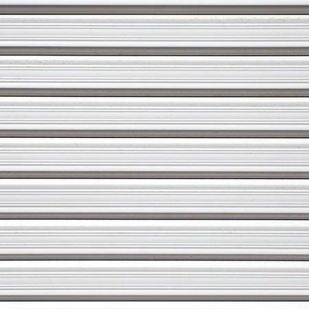 Texture of stainless roller shutter door photo