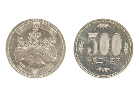 500 일본 엔 동전