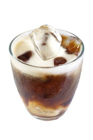Koude koffie drinken met ijs Stockfoto - 29569828