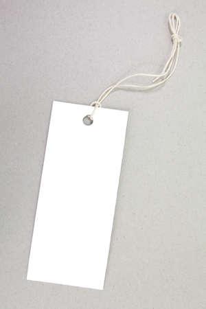 close up of blank price label  版權商用圖片