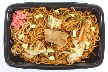 yakisoba: Japanese stir - fried noodle yakisoba