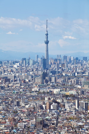 東京シティー ビューと東京スカイツリー