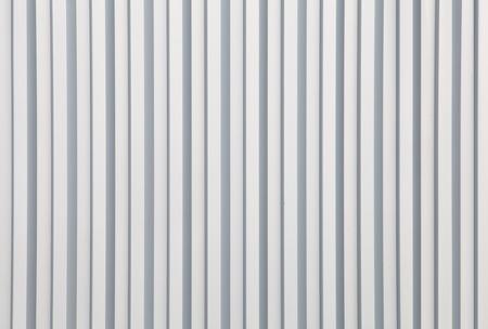 galvanize: white Corrugated metal texture surface  Stock Photo