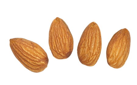 Close - up heathy food almonds seed  photo