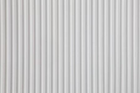 witte Gegolfde metalen textuur oppervlak of galvaniseren staal achtergrond