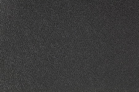 Close - up black leather background and texture Standard-Bild