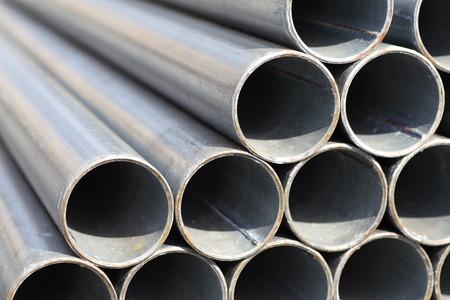 Fermer - jusqu'� la pile de tubes en acier