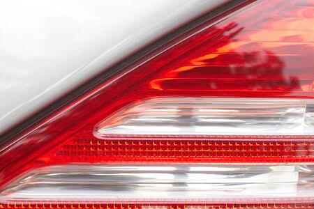 Close - up detail at car tail lamp photo