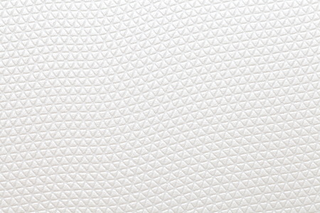 white space: Close - up White pvc plastic pattern texture and background