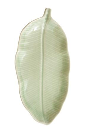 Celadon ceramic dishes , Thai Celadon on white background photo