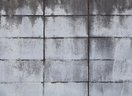 dirty: Dirty concrete block wall background and texture