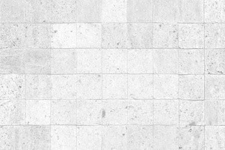 현대적인 흰색 콘크리트 타일 벽 배경