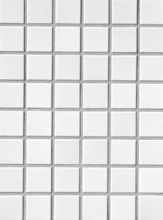 white mosaic wall texture and background seamless photo