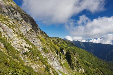kita: View of Mount Kita is the secound tallest mountain in Japan