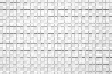 Weiß modernen Fliesenwand Hintergrund und Textur
