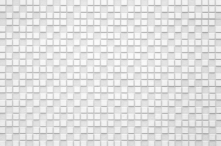 White modern tile wall background and texture photo