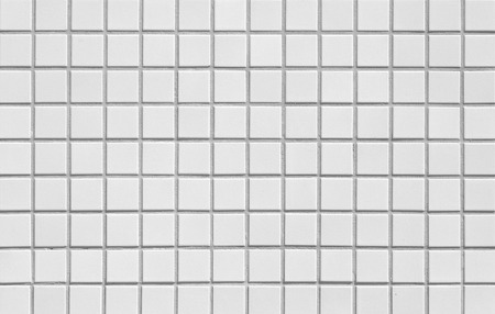 The Modern White Concrete Tile Wall Background Photo