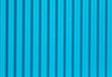 Blue corrugated metal texture and background seamless photo